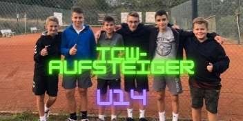 U14 – TCW-Aufstiegshelden