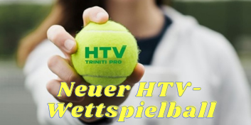 Neuer HTV-Wettspielball 2021